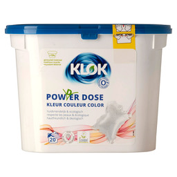 KLOK PODS POWDER DOSE COLOR 20 STUKS