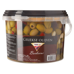 OLIVES BARBECUE GREEK GLUTEN FREE