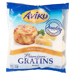 GRATIN TAARTJES 100GR CREAM & CHEESE