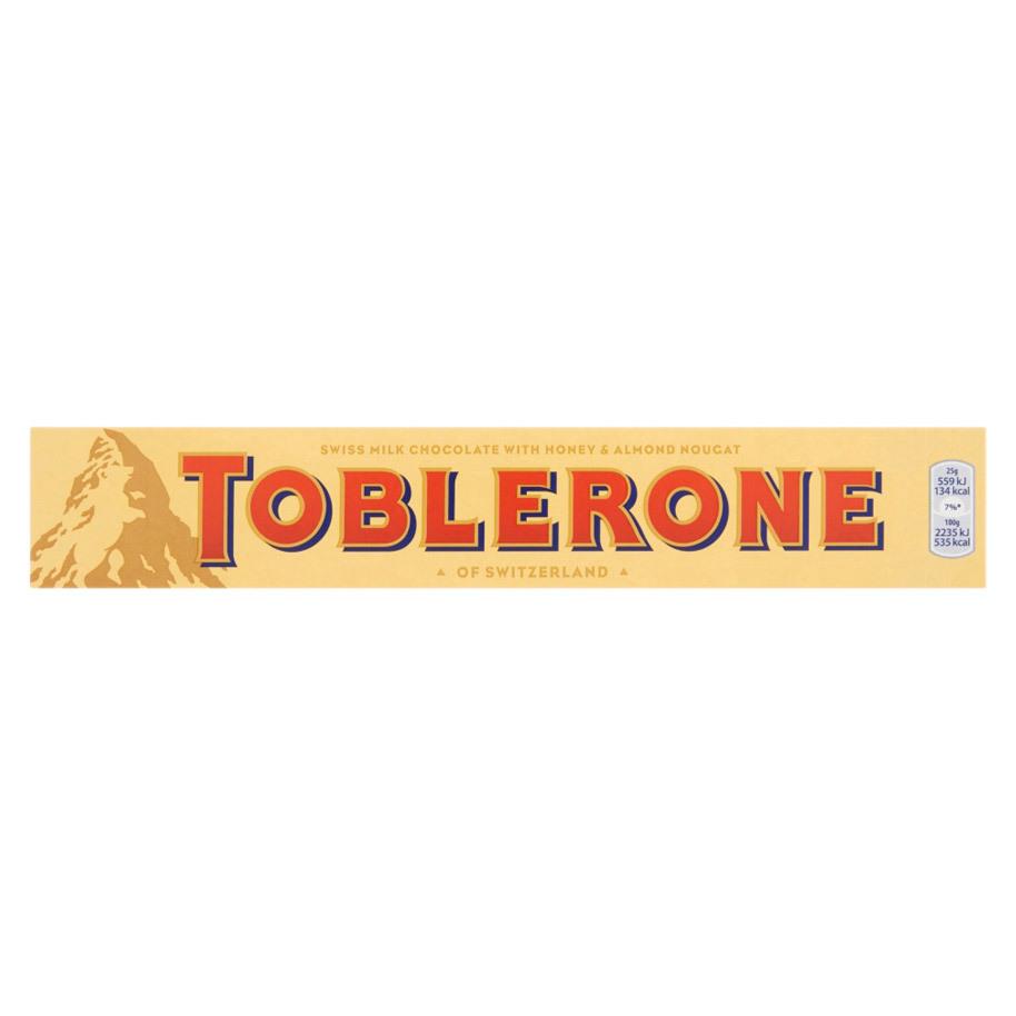 TOBLERONE YELLOW 20X100GR