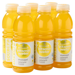 SOURCY VIT.WATER 50CL ORANGE CALAMANSI