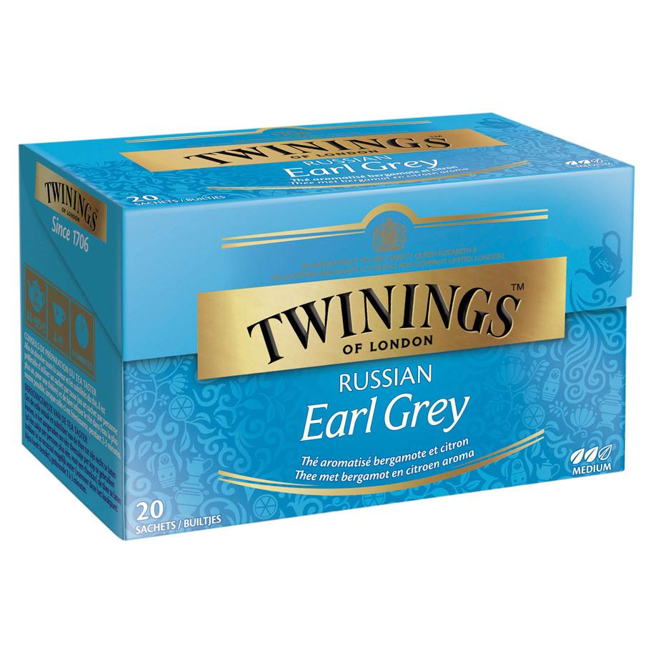TEA RUSSIAN EARL GREY TWININGS