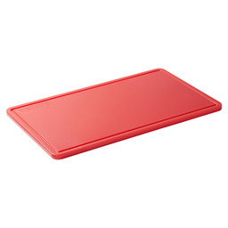 CUTTING BOARD RED STERICARE 1/2GN