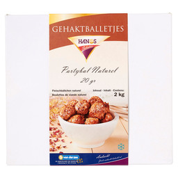 PARTY BALL NATURAL 20GR