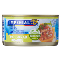 CRABE EXTRA 40% PATTES 170 GR