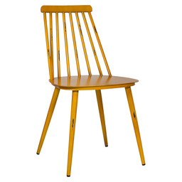 EDSON CHAIR ALU - VINTAGE YELLOW