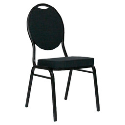 NG SELECTSTACK CHAIR-HMS BLACK -S:109-23
