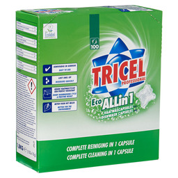TRICEL VAATWASCAPSULES ALL-IN-ONE ECO