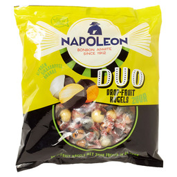 NAPOLEON DUO DROP FRUIT KOGELS ZUUR