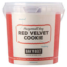 COOKING 'M BITE RED VELVET COOKIE 8X1KG