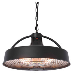 RETRO SPHERE 2100 BLACK HANG HEAT HALOGN