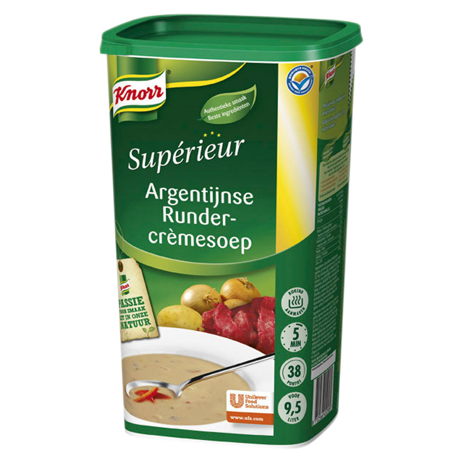 RUNDERSOEP ARG.9,5L SUPERIEUR INTERNAT
