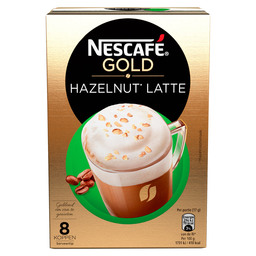LATTE HAZELNUT NESCAFE SINGLE SERVE