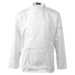 CHEF'S JACKET GAZZO WHITE MT L