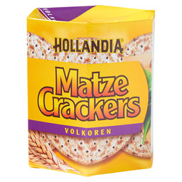MATZE CRACKERS VOLLKORN HOLLANDIA