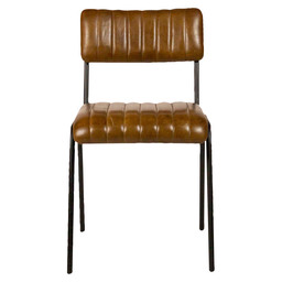 JENSON CHAIR COGNAC LEDER