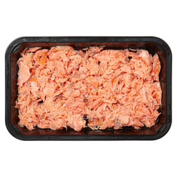 HOT SMOKED SALMON FLAKES 250 GR MAP