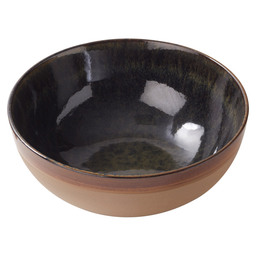 BOWL SURFACE 23,5X9,5CM INDI-GRAY