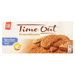 TIME OUT SPECULAAS  GRANENBISCUITS 171GR