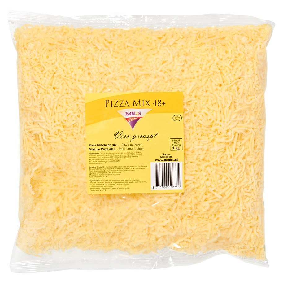 PIZZA MIX 48+ 50/50 3MM HANOS SELECTION