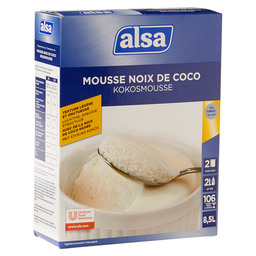 MOUSSE COCONUT 8 L ALSA