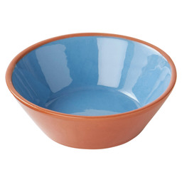 DISH 11 CM CONICAL - BLUE