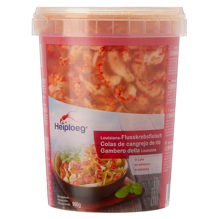 CRAYFISH MEAT IN WATER