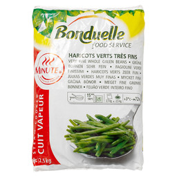 HARICOTS VERTS ZF A LA MINUTE