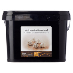 MERINGUE TUFTS NATURAL 350G (BUCKET)