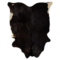 COWHIDE 2-3M2 BLACK / WHITE
