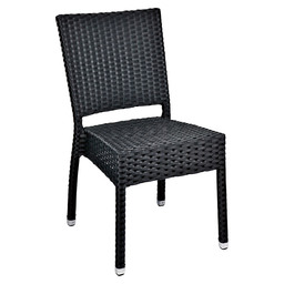 MEZZA CHAIR BLACK - 5X5 WEAVING