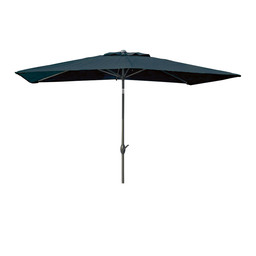 MAMBO PARASOL 3X2M ROYAL GREY / BLACK
