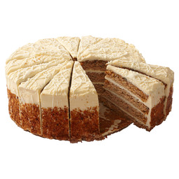 FOUR HIGH CARROT CAKE 16PT