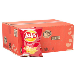 CHIPS NATUREL 40GR