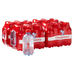 CHAUDFONTAINE SPARKLING 33CL PET 4X6