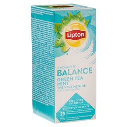 THE GREEN TEA MINT LIPTON PROFESSIONNEL
