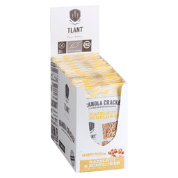 CRACKER HAZELN&SUNFLOWER BIO GLUTEN-FREE