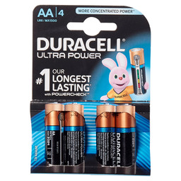 ULTRA POWER DURACELL AA VERV:54000660