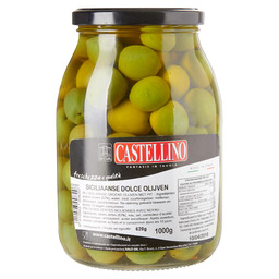 OLIVES SWEET SICILIAN WITH PIP