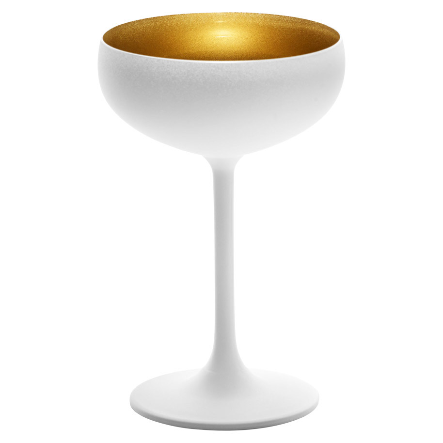 CHAMPAGNECOUPE OLYMPIC ZILWIT/GOUD 23CL