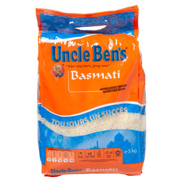 BASMATI RICE UNCLE BEN'S