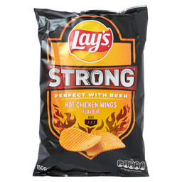LAY'S STRONG HOT CHICKEN WINGS