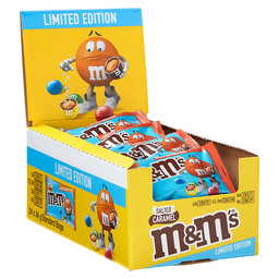 M&M'S SALTED CARAMEL SINGLE 36GR