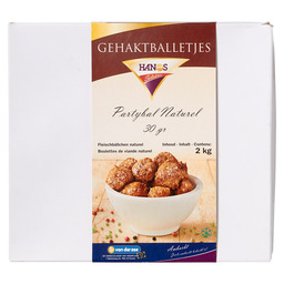PARTY BALL NATURAL 30GR