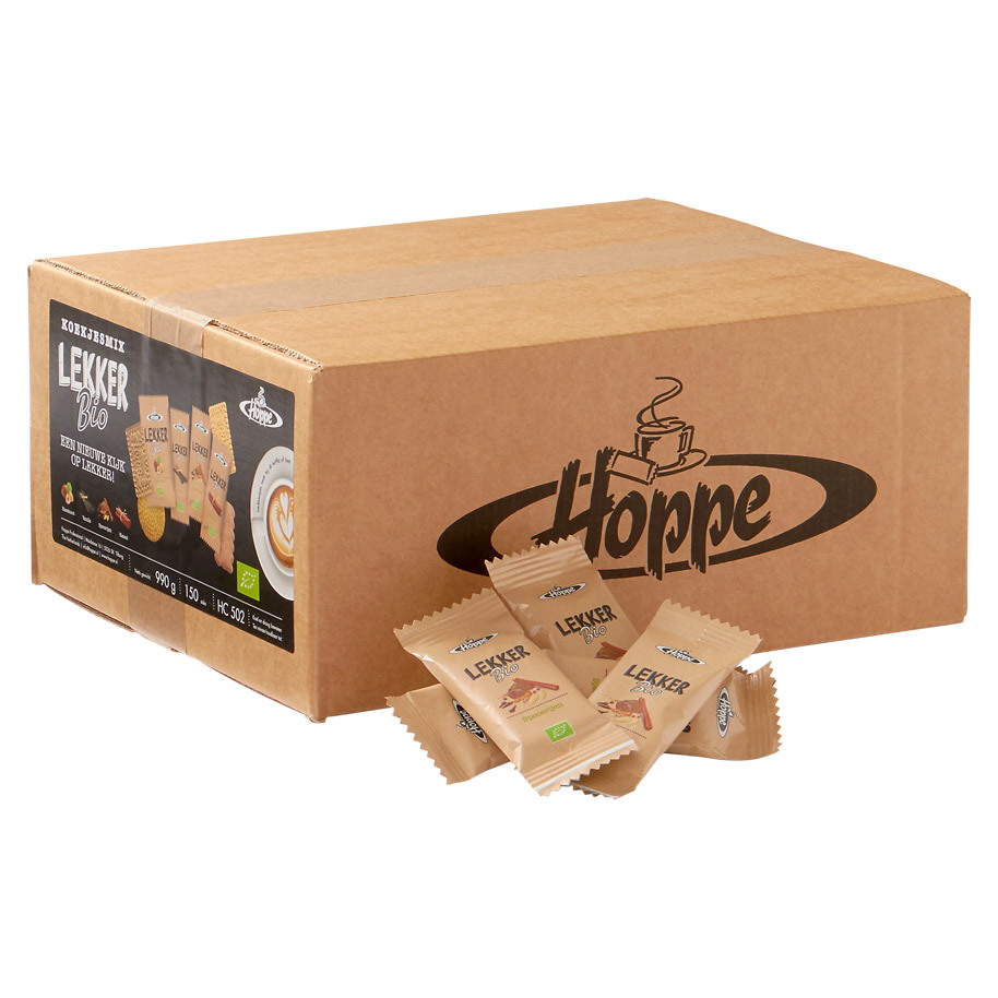 HOPPE COOKIE MIX DELICIOUS BIO 150 PCS