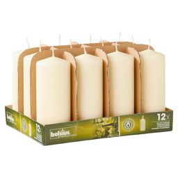 PILLAR CANDLES 17/7 TR12 IVORY