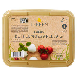 MOZZARELLA BUFFEL  BULBA 4X 125 GR