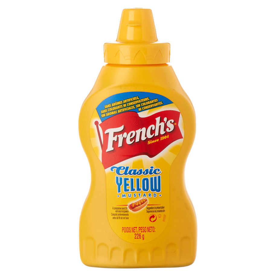 FRENCH'S YELLOW MUSTARD 226 GR