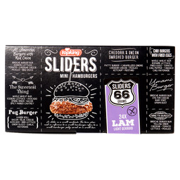 MINI HAMBURGERS LAMB SLIDERS 66 GR