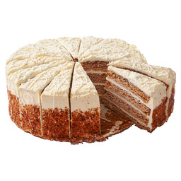4 HIGH CARROT CAKE CAKE 16 POINTS